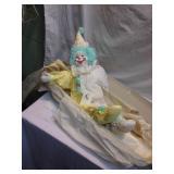 Clown doll, by Luanne
