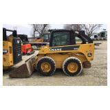 John Deere 320 Wheel Skid Loader