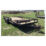 1994 PB HVY 20 Ft Tandem Axle Trailer
