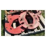 (2) Rear Tractor Wheel Weights
