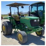 John Deere 5045D Tractor w/Sun Shade