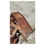 Metal Car Ramps & Metal Tool Box