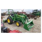 John Deere 790 Tractor w/300 Loader