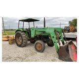 Deutz-Allis Tractor w/456 Loader