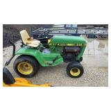 John Deere 212 Riding Tractor Only