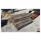 Skid of Wooden Stakes