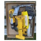 Misc. Dewalt Tools w/out Batteries