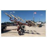 Hesston 10 Wheel V Rake