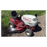 White Lt1850  Riding Mower