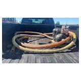 "Fertilizer pump and 2"" hoses"