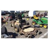 GrassHopper 727K ZT Mower 52""