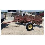 5 wheel hay rake