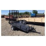 2001 Assembled Single Axle Trailer