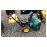 "Yard Man 9HP 28"" snow blower"