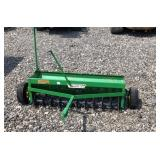 John Deere aerator and seeder