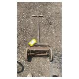 Antique rotary mower