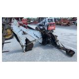 Backhoe attachment for Bob Cat skid steer