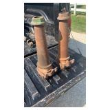 Pair of wagon axles