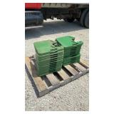 (24) CHOICE John Deere Suitcase Weights