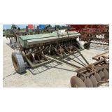 John Deere Van Brunt Drill w/Grass Seed