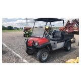 Club car 1200 w electric dump