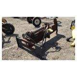Skidsteer Log Splitter