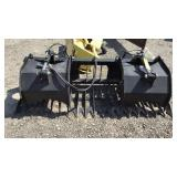 "80"" Skidsteer Grapple Bucket"