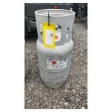 Full propane tank for fork lift/ mower