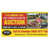 11th ANNUAL BERRYVILLE FARM & OUTDOOR AUCTION