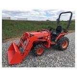 KUBOTA B7510 FARM TRACTOR