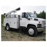2009 GMC C7500 S/A MECHANICS TRUCK