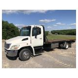 2008 HINO S/A ROLL-BACK TRUCK