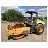 2011 VOLVO SD100D VIB SMOOTH DRUM COMPACTOR