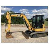2016 CAT 305E2 CR MINI EXCAVATOR