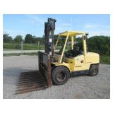 1990 HYSTER H110XM PNEUMATIC FORKLIFT