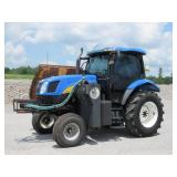 NEW HOLLAND TS115A MOWING TRACTOR