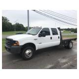 2006 FORD F350 FLATBED PICKUP