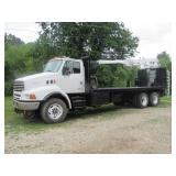 2002 STERLING T/A KNUCKLEBOOM TRUCK