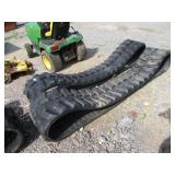 (1) NEW SET OF RUBBER TRACKS