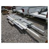 LOT OF MISC PVC PIPES