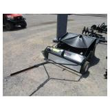 """BRINLY 42"""" PULL-BEHIND LAWN SWEEPER"""