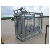 NEW CATTLE SQUEEZE CHUTE