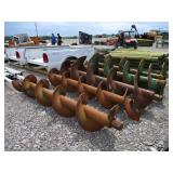 LOT OF BORING AUGERS