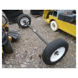 TRAILER AXLE W/TIRES MOUNTED