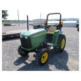 2014 JOHN DEERE 3032E FARM TRACTOR