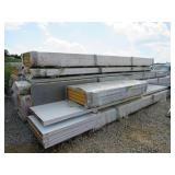 LOT OF ALL WEATHER INSULATED METAL PANELS