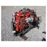 CUMMINS B6.7-280 DIESEL ENGINE W/ALLISON AUTO 6 SP