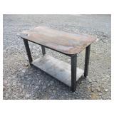 NEW SHOP WELDING TABLE