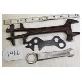 David Bradley & T.D.C. Wrench w/ Unmarked Wrench