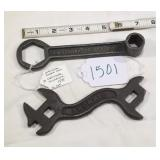 Owatonna Double Disc & Simmons Wrenches